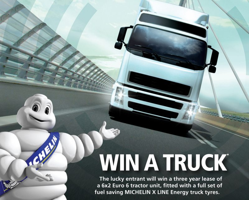 Michelin Euro VI truck tyre promotion