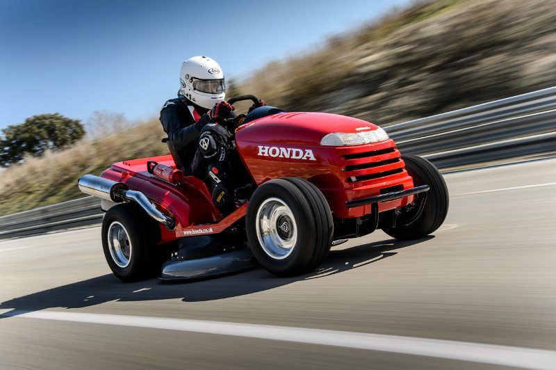 Honda (UK)'s Mean Mower