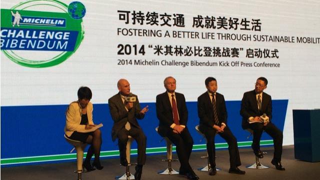China to host Michelin's 'Challenge Bibendum' in November