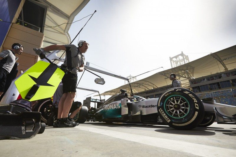 Bahrain GP: Rosberg finishes on 'faster' tyres – but Hamilton wins