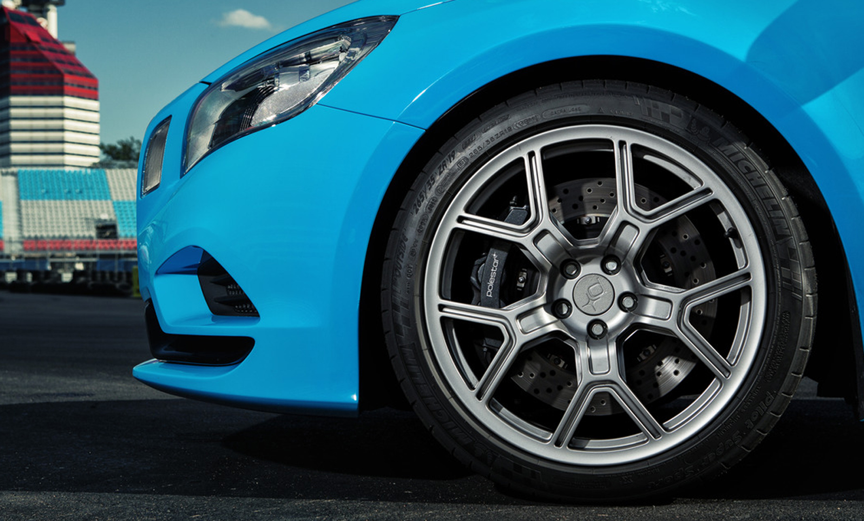Volvo Polestar selects Michelin OE