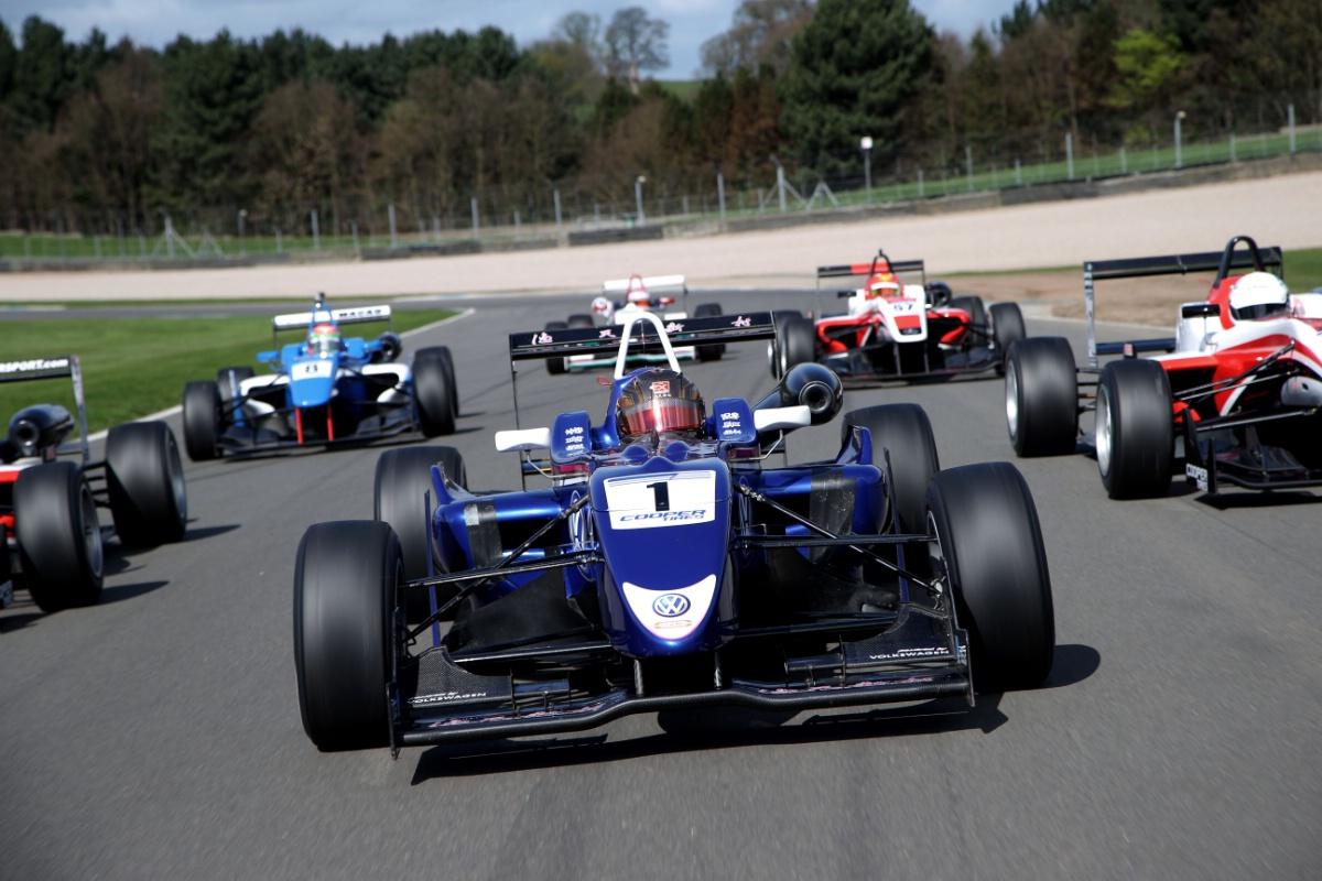 Cooper Tire British Formula 3 Rockingham