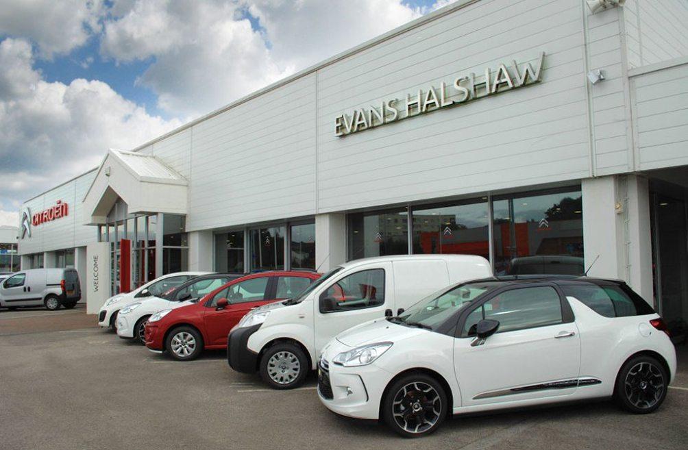 Evans Halshaw car dealer TyreSafe