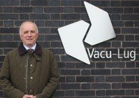Alan Setchfield, who retired exactly 48 years after he joined Vacu-Lug