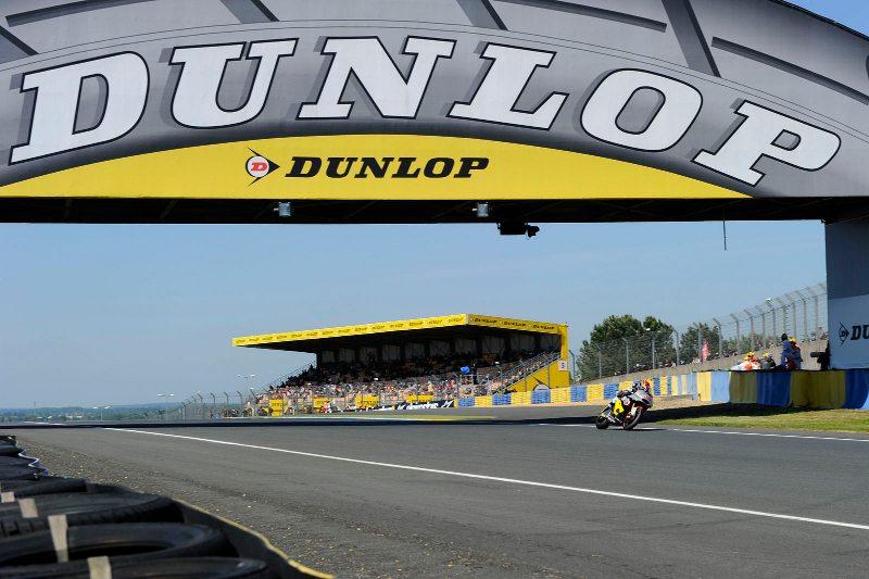Dunlop bridge Moto2 Moto3 Le Mans