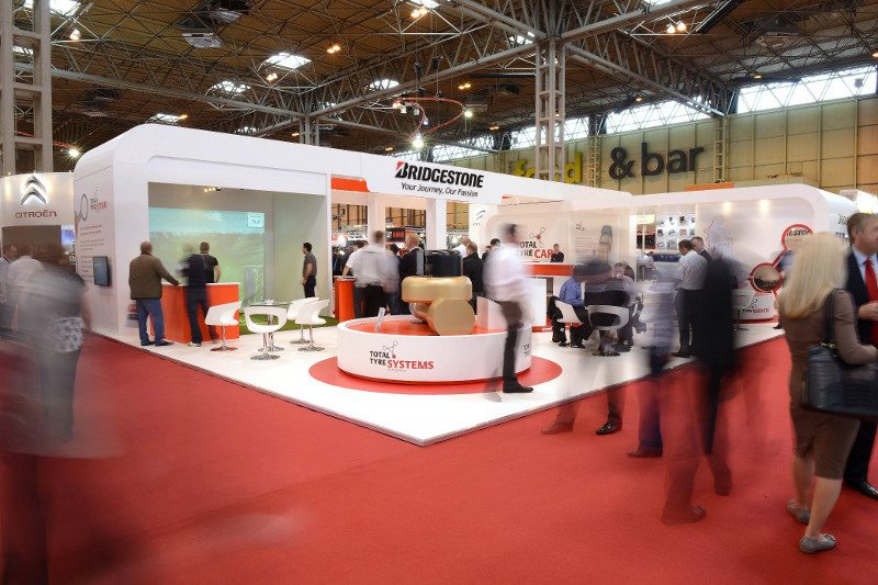 Bridgestone was pleased to report an increased number of visitors to its CV Show stand, which focused on tyre services and featured the brand's golfing products