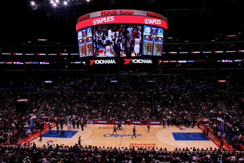 Yokohama Staples Centre LA Clippers