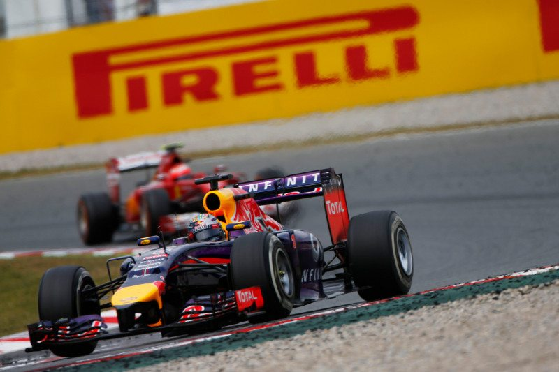 Sebastian Vettel drove an impressive Spanish grand prix, using a three-stop strategy to reach fourth place in the closing stages