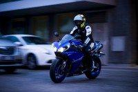 Rossi tests S20 EVO in Bridgestone clip