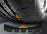 Continental working on TPMS that measures tread depth