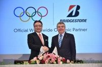 Bridgestone becomes partner, official tyre of Olympic Games
