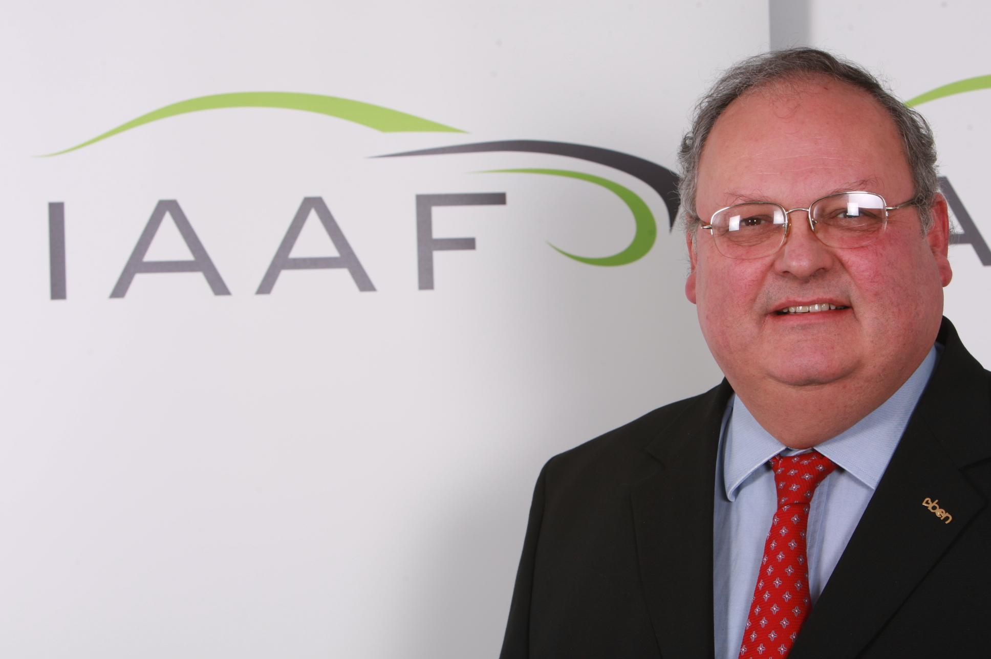 IAAF chief executive Brian Spratt