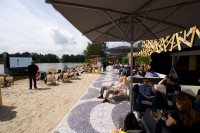 Sand, samba and sport – Continental catches World Cup fever