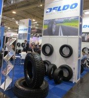 Deldo exhibits new Tristar range at meeting-rich Reifen show