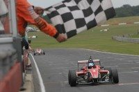 Will Palmer takes one of his two Snetterton Formula 4 victories
