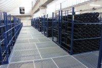 Bespoke Arcom storage system helping tyre manufacturer stay flexible