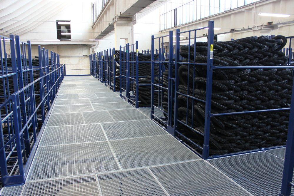 Arcom storage system, Heidenau