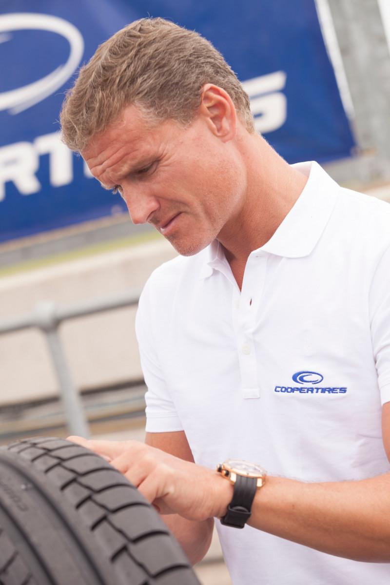 David Coulthard, Cooper Tire ambassador