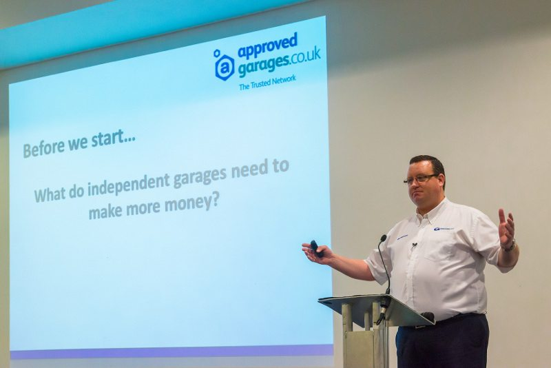 Approved Garages network manager Phil Seymour