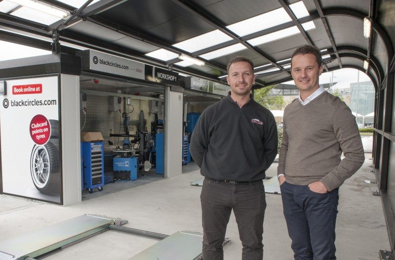 Blackcircles.com opens first Tesco PitStop in Scotland
