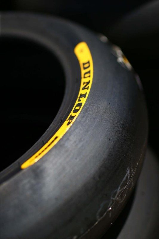 Dunlop Moto 2 and 3 tyre