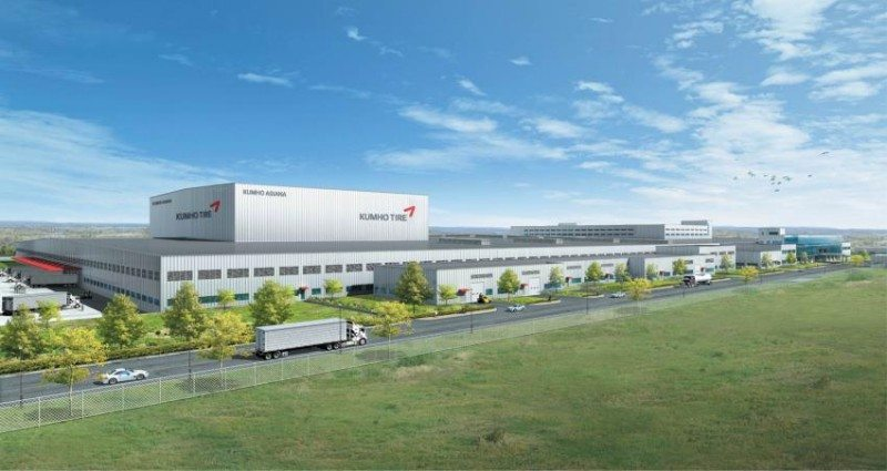 Kumho US plant to specialise in original equipment tyres