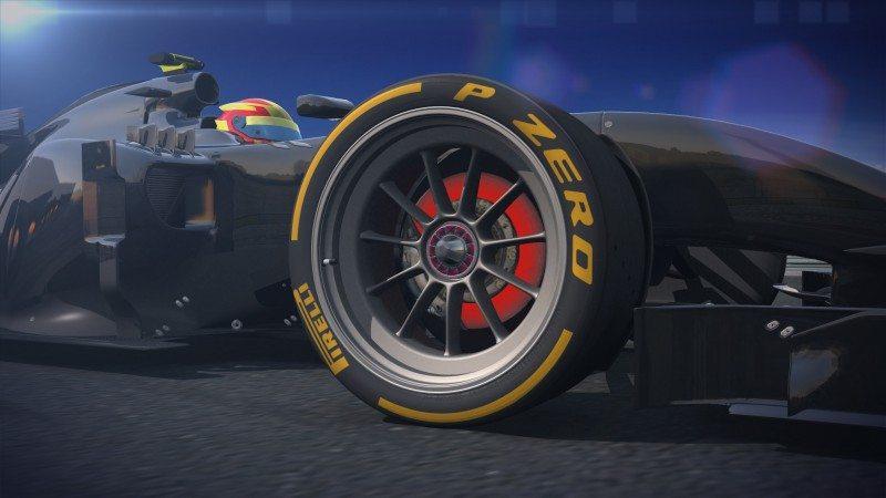 "Pirelli testing 18"" F1 concept tyre"