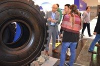 Techking displays 2nd generation OTR tyres