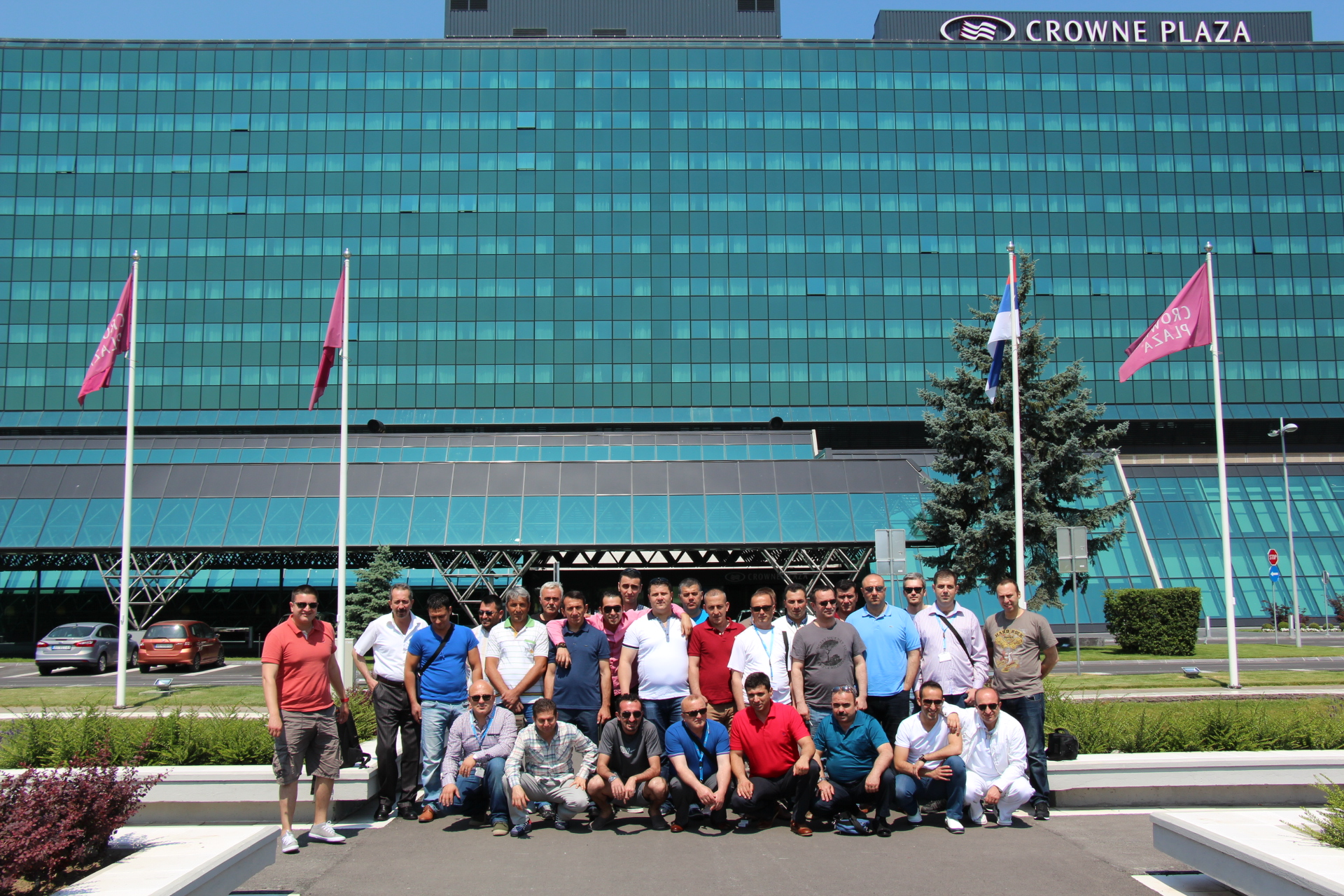 Vipal supported the Belgrade event with its Eastern Europe distributor Tatko