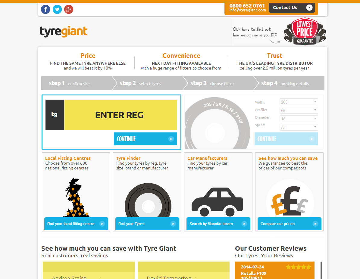 Tyre Giant logo relaunch