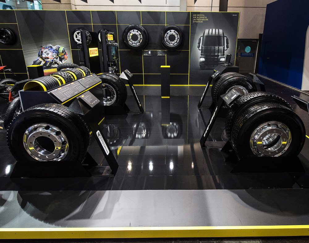 Pirelli commercial vehicle tyres Reifen 2014