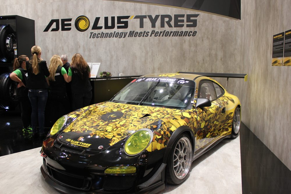Aeolus Porsche livery