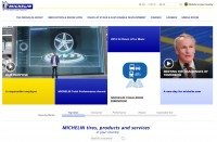 Michelin launches new corporate site, media portals