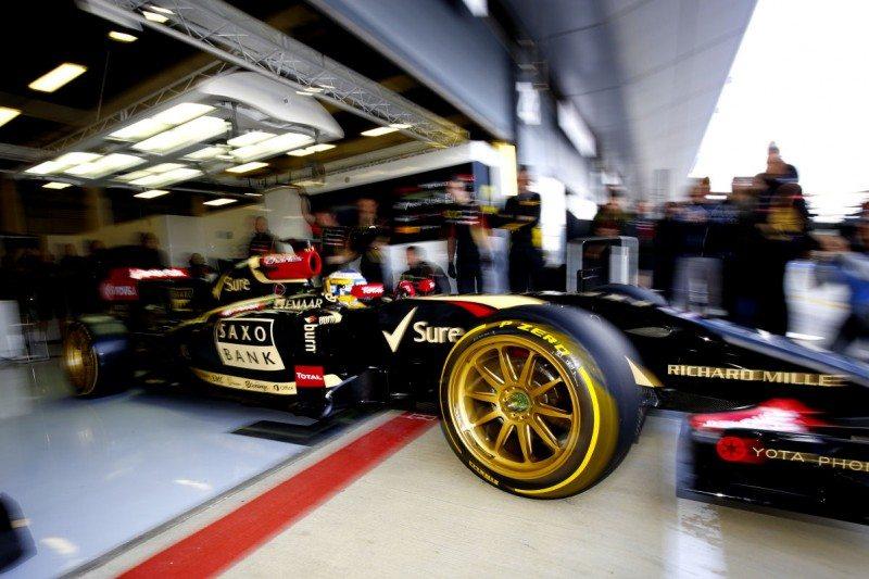 Aesthetics the priority at Pirelli F1 tyre test