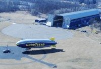 Goodyear's latest airship to be named Wingfoot One