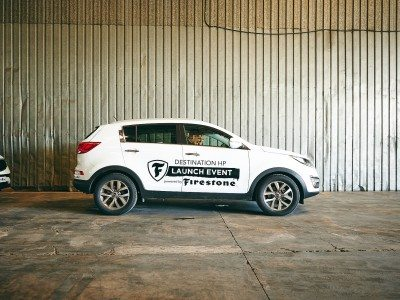 Firestone brand relaunch continues with Reading Festival sponsorship, new tyres