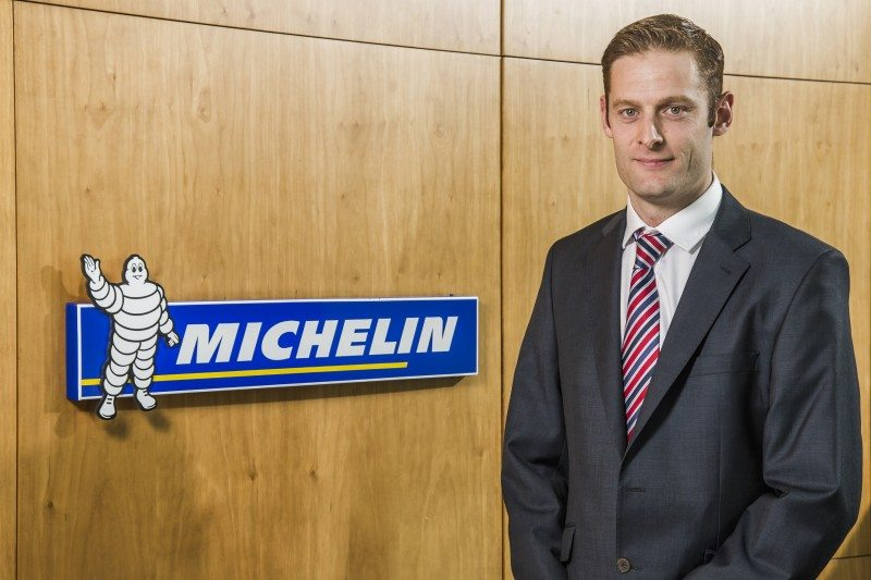 Michelin head of truck and bus marketing, Chris Smith