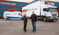 Greg Gilmour, Henderson Wholesale and Norman Kerr, Kerr's Tyres