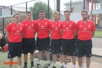 Liverpool FC Academy hosts Maxxis dealers