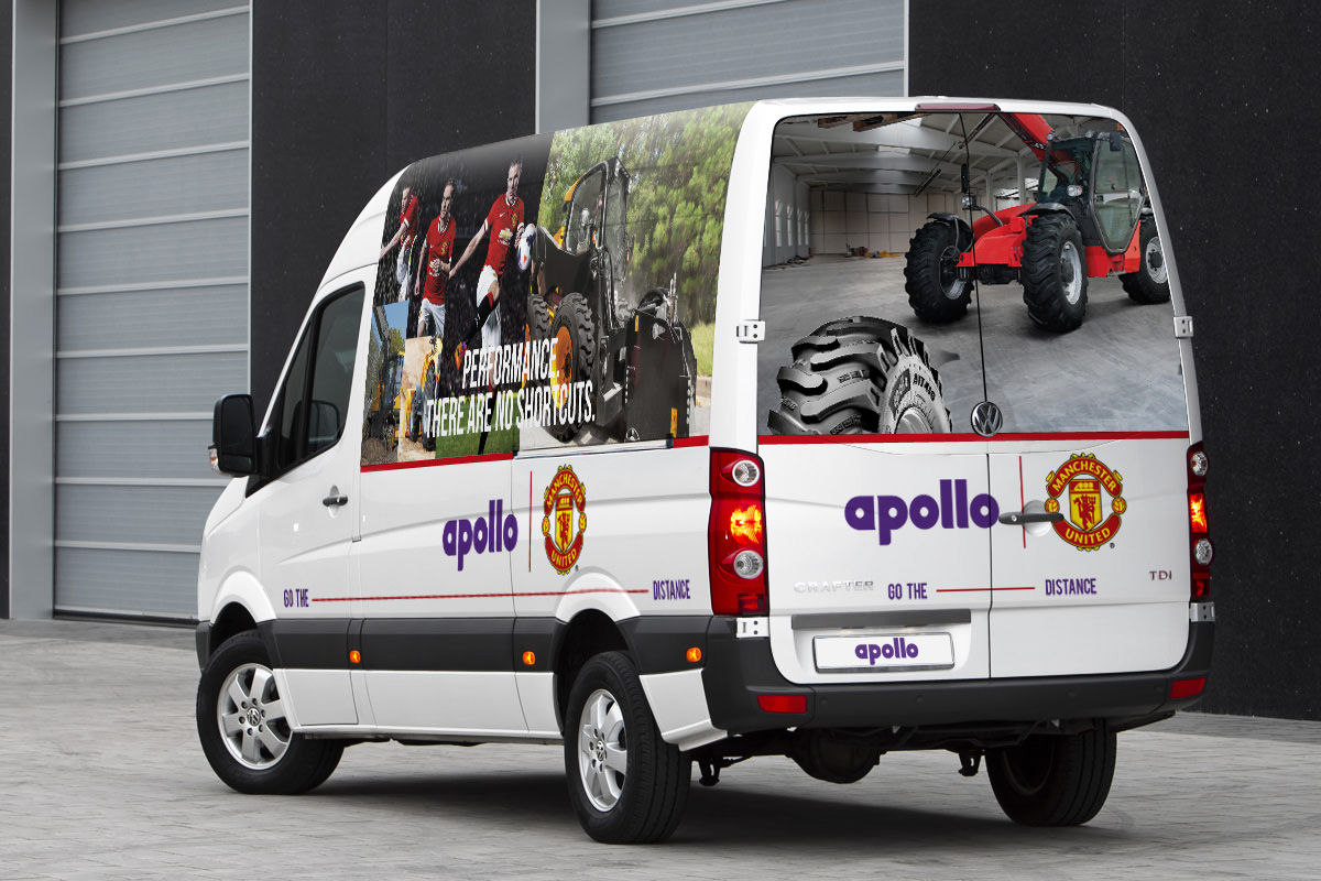 Apollo Volkswagen Crafter Manchester United