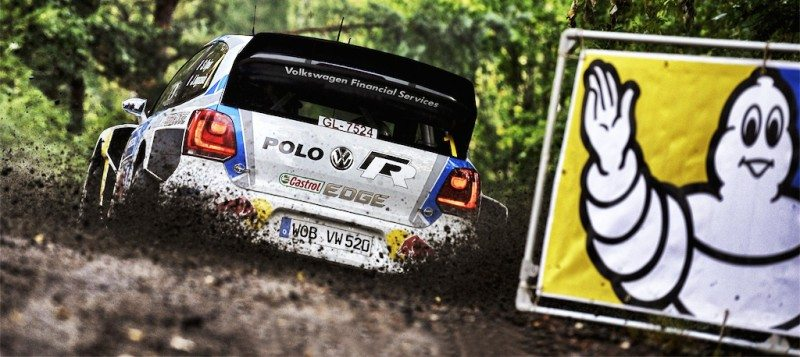 Michelin introduces WRC tyre trio