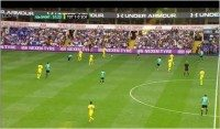 Nexen Tire advertising at Everton, Spurs, Southampton and West Ham