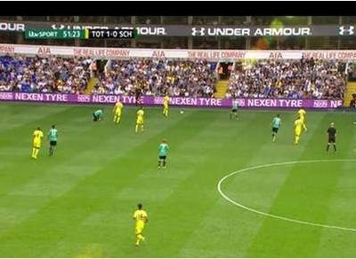 Nexen Tire advertising at Everton, Spurs, Southampton and West Ham