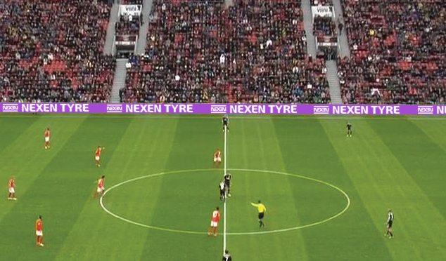 Nexen marketing brand with European football clubs