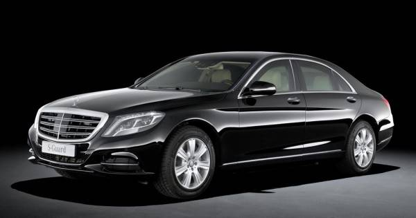 PAX makes an appearance on Mercedes S600 Guard