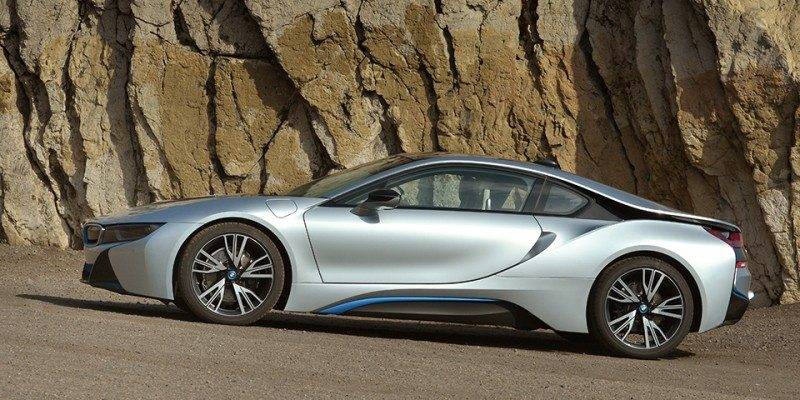 Bridgestone exclusive rubber on BMW i8