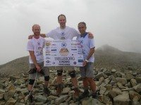 Trelleborg team scales highest UK peaks for charity