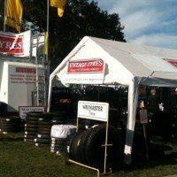 Vintage Tyres exhibiting at Beaulieu Autojumble 2014