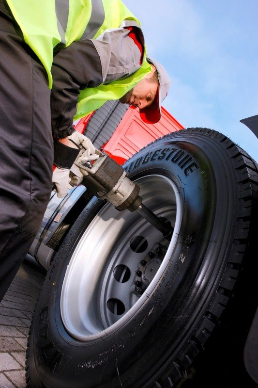 Bridgestone staying strong in a growing truck tyre market