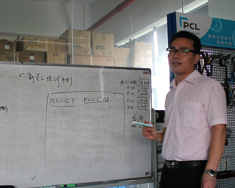 How PCL is improving the standard of inflation technology in China